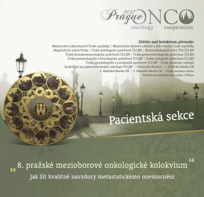Pacientská sekce na PragueONCO 2017