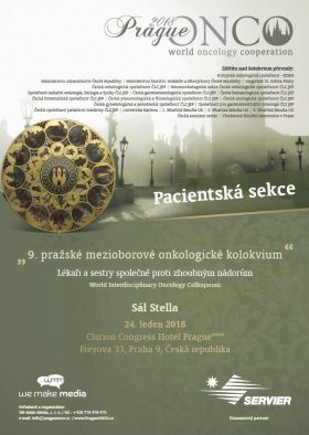 Pacientská sekce PragueONCO 2018