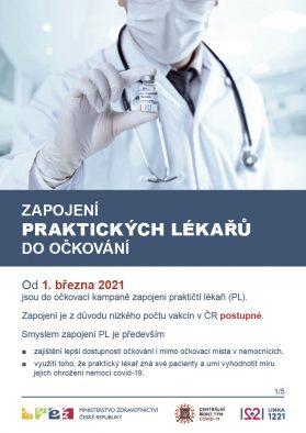 Zapojení praktických lékařů do očkování